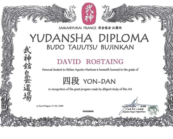 diplome yondan